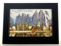 "Joni Eareckson Tada's ""Yosemite Afternoon"" Framed Print."