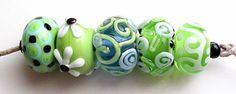 Uglibeads from 2004. Julie Wong Sontag #lampwork #beads