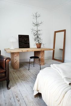French By Design: Raw, wood and nature mix