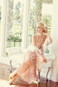 Flapper Style Dresses, Great Gatsby Dresses, Great Gatsby Fashion, Gatsby Dress Party, 1920s Dress Gatsby, 1920s Party Dresses, Flapper Outfit, Evening Dresses, 1920s Fashion Dresses