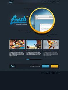 Free Website PSD, Free PSDs & PSD Templates