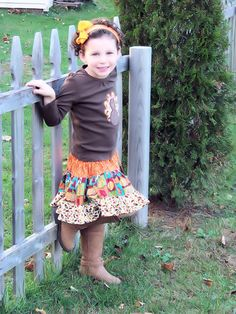 Turkish Delight Bohemian Skirt and Applique Shirt Set by V3STIOs, $49.99