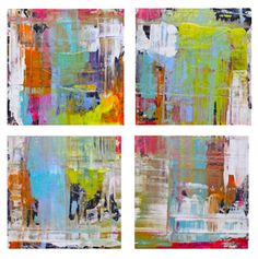 """8242"" each panel 24""x24"" oil on canvas by lindsay cowles fine art"