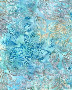 Grove 2 - All Aflutter Batik - Iced Sky Blue