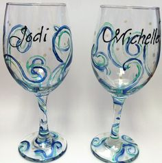 "By Chirag Sharma           Refresh your ""Wow-hostess"" image with some funky hand-painted wine glasses this coming festive season..."