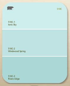 Wall paint color: Windwood Spring