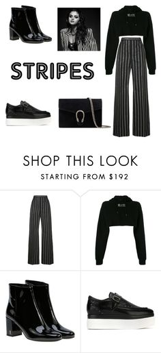 """Untitled #174"" by khanhngan2002 ❤ liked on Polyvore featuring Balenciaga, RtA, Yves Saint Laurent, Ash and Gucci"