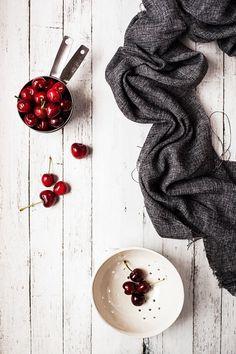 Cherries and Colander