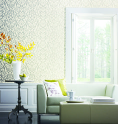 Shimmering Details, Whisper: Modern designs that are warm, subtle, and luxuriously irridescent all in one.