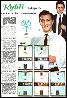 Pupuleipomo: Kodin kuvasto 1960 Teenage Years, Old Toys, Nostalgia, Ads, Memories, Baseball Cards, Retro, Sports, Historia