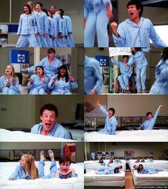 Glee mattress commercial