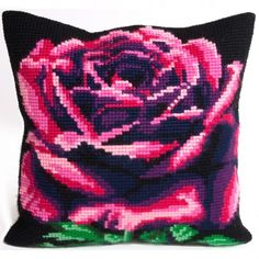 Rose Cardinal Cross Stitch Kit