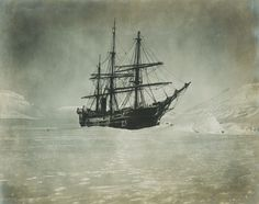 A moonlight picture of the America taken Christmas night (Baldwin-Ziegler Polar Expedition), 1901.  Photograph/Photo: Print. Frame it! by PhotosandBacon on Etsy https://www.etsy.com/listing/261482323/a-moonlight-picture-of-the-america-taken