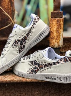 Diadora B Elite Python Custom by Muffin #customsneakers