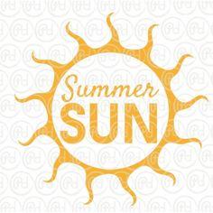 Plotter Freebie Summer Sun