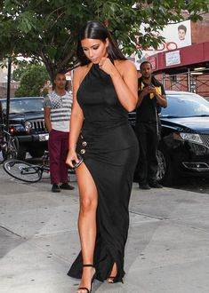 June 26, 2014- Kim Kardashian arriving at the Ganesvoort Hotel in NYC.