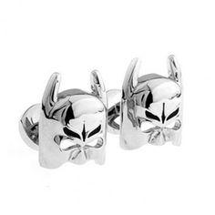 #Batman #Mask silver #Cufflinks #cufflinkspalace