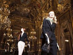 paris in the fall | 2013 Dior Opera de Paris Fall collection image (1024 x 768)