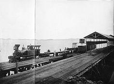 Embarcadouro da Prainha (Atual Píer Mauá) – 1885