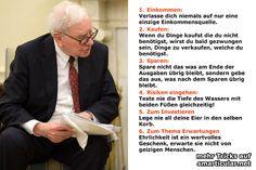 6 einfache Tipps vom Milliardär Warren Buffett