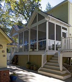 Screened-in porch or deck on Pinterest | Screened Porches, Decks and ...