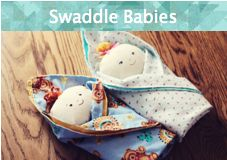 """FREE """"Swaddle Baby"""" Tutorial & Pattern from Becca BeccaMarie Designs."""