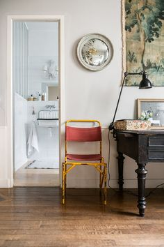 A family home in France filled with vintage finds