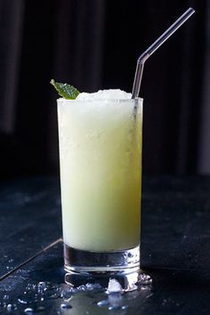This looks a bit weird, but I'd try it.   Absinthe Frappé - Absinthe, Mint, Simple Syrup, Egg White, Club Soda.