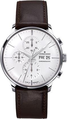 #Junghans chronoscope #watch http://www.amazon.de/Junghans-Herren-Armbanduhr-Meister-Chronoscope-Chronograph #watch #design #reloj #diseño #detodomigusto #robledoarte