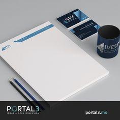 Hoja membretada #design http://portal3.mx/