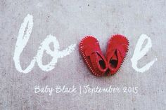 Valentine's Day Baby Announcement | LOVE.