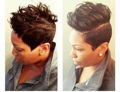Hair by @cashahairartist