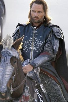Aragorn. I would go to Middle Earth for this man! In my top 3 movie characters/hotties of all time. Easy.
