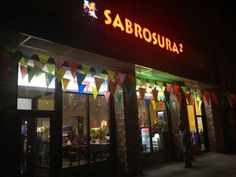 Sabrosura2.com American Born Chinese, Restaurant Signage, Broadway Shows, Neon Signs, Restaurant Signs
