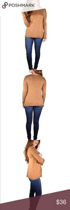 """HONEY I'M HOME 80% Rayon 20% Nylon   Length:24"""" Waist:34"""" Bust:36""""   new with tags   size M vain Sweaters Crew & Scoop Necks"""