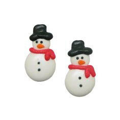 Snowman Royal Icing Decorations