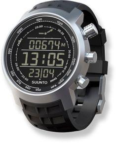 Suunto Elementum Terra Black Multifunction Expedition Watch