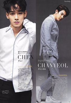 Omg. Chen. CHEN. Holy. Wow. I'm pinning this for him. Chanyoel bb you're great too