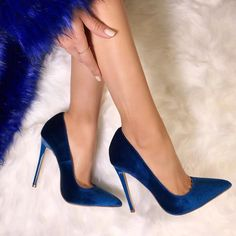 Sexy High Heels, Frauen In High Heels, Lace Up Heels, Dress And Heels, Womens High Heels, Blue High Heels, Dress Shoes, Sandals Outfit, Heeled Sandals