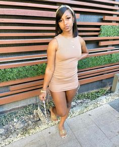 Swag Outfits For Girls, Summer Dress Outfits, Crop Top Outfits, Girl Outfits, Fashion Outfits, Night Outfits, Fashion Ideas, Baddie Outfits Casual, Dressy Outfits
