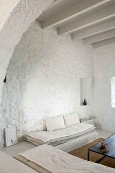 Bathed by the Mediterranean Sea... - A WHITE WASHED HOLIDAY HOME ON NISYROS, GREECE