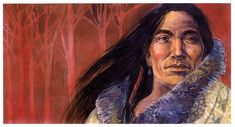 Red Cloud by Geraldine Aikman This was painted in the winter for a show whose theme was the color red. Red Cloud, Stock Art, Native American Art, Native Americans, Art Paintings, Other People, Color Red, Nativity, Art Gallery