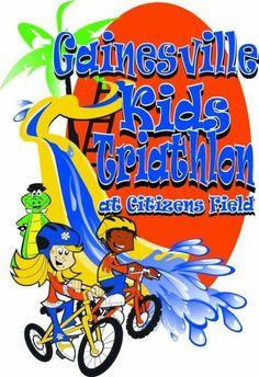 Gainesville Kids Triathlon Gainesville, FL #Kids #Events