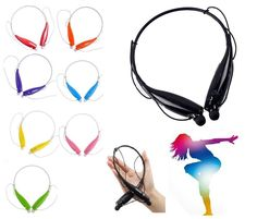 Handfree Universal Bluetooth Wireless Headset Stereo Headphone Earphone Sport  #Wirez4u