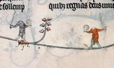 From the Breviary of Renaud de Bar, France, 1302-1303.
