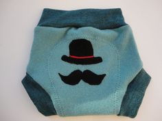 Upcycled Wool Soaker Diaper Cover With Added Doubler by MyEcoWay, $12.50