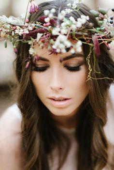 Autumn Flower Crown