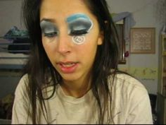 Alice in Wonderland Inspired Makeup How-To Tutorial (Creative Version). VLogger is Victorias Secret Makeup Tuts. Subscribe here - http://www.youtube.com/user/iwanted2c1video. She has an obsession with Victorias Secret and the 80s/90s. That somehow gets translated to her face.