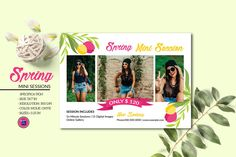 Spring Photography mini session Template | Photography Marketing Board | Photoshop & Elements Template | Instant Download Photography Mini Sessions, Spring Photography, Printable Certificates, Certificate Templates, Photoshop Elements, Event Flyer Templates, Photography Marketing, The Help, Etsy