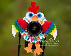 Lens Bling Crazy Chicken  Ready to Ship by HappyAcresFarm on Etsy, $22.00